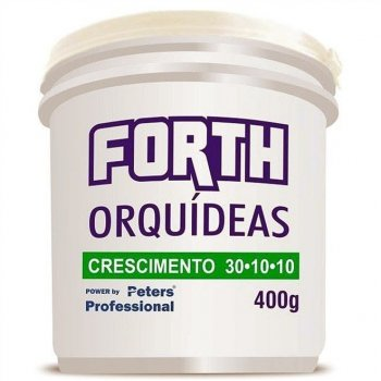 FORTH ORQUÍDEAS CRESCIMENTO 30-10-10 (400GR)